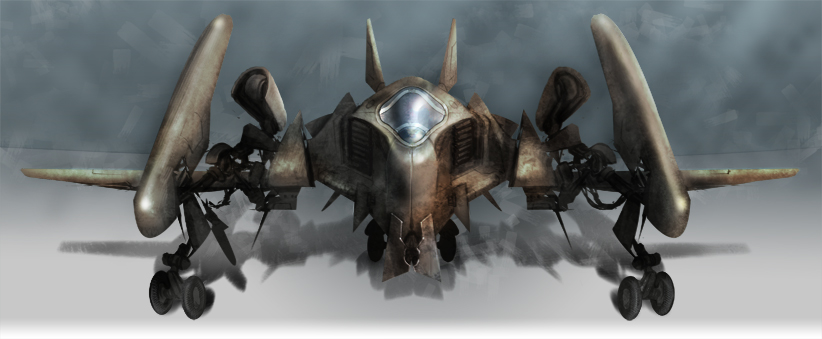 Aircraft by Legibbon