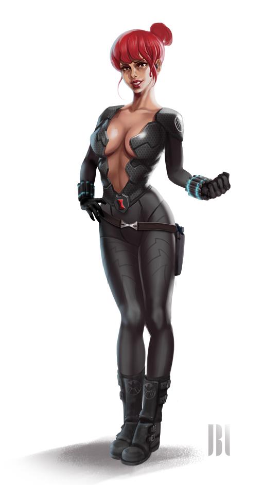 Black Widow by Legibbon