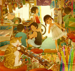Japanese Candy Store