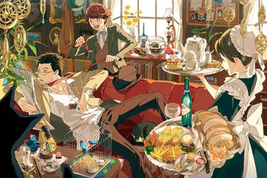 detective's brunch by conronca