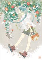 Flower Miku by conronca