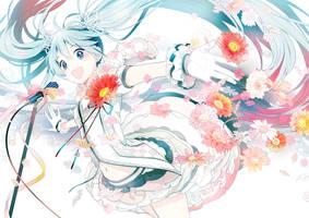 Flower Miku 2