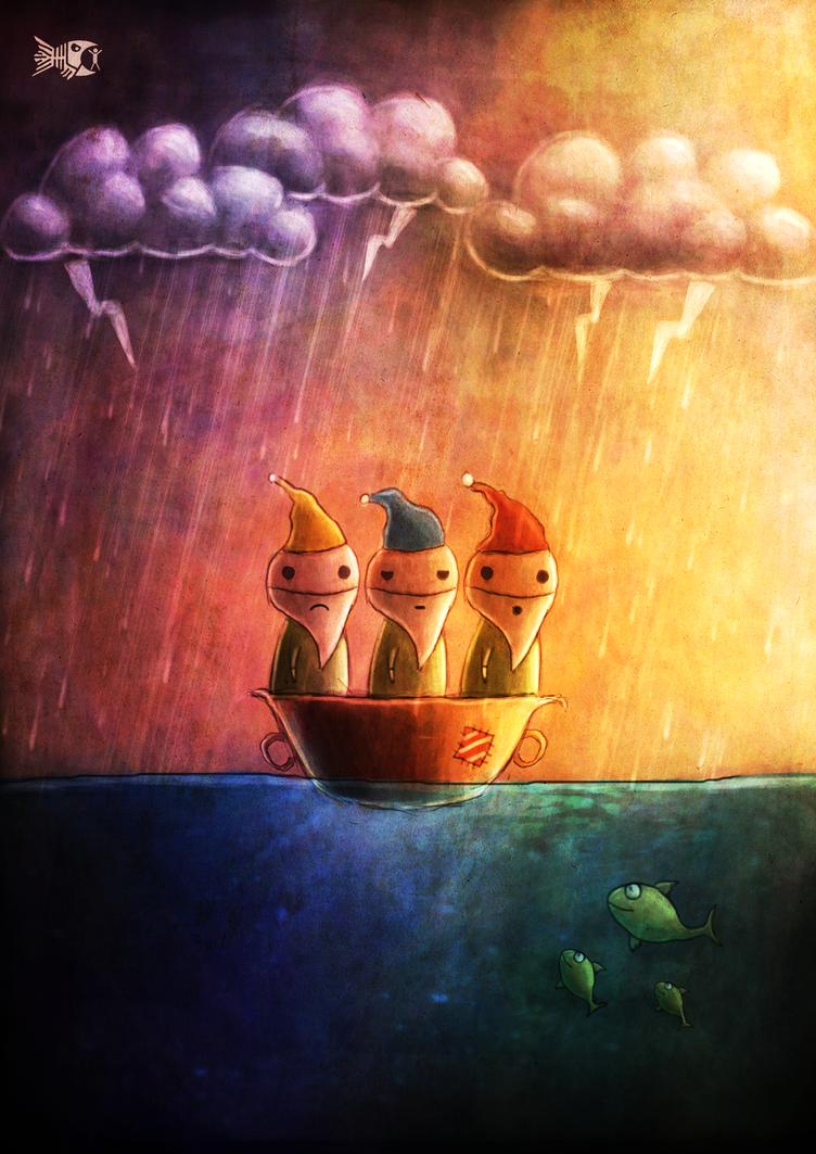 Three Wise Men of Gotham by FriendlyFish