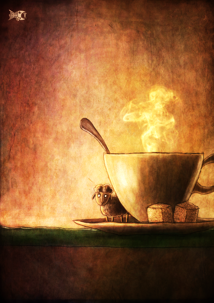 Coffee lamb by FriendlyFish