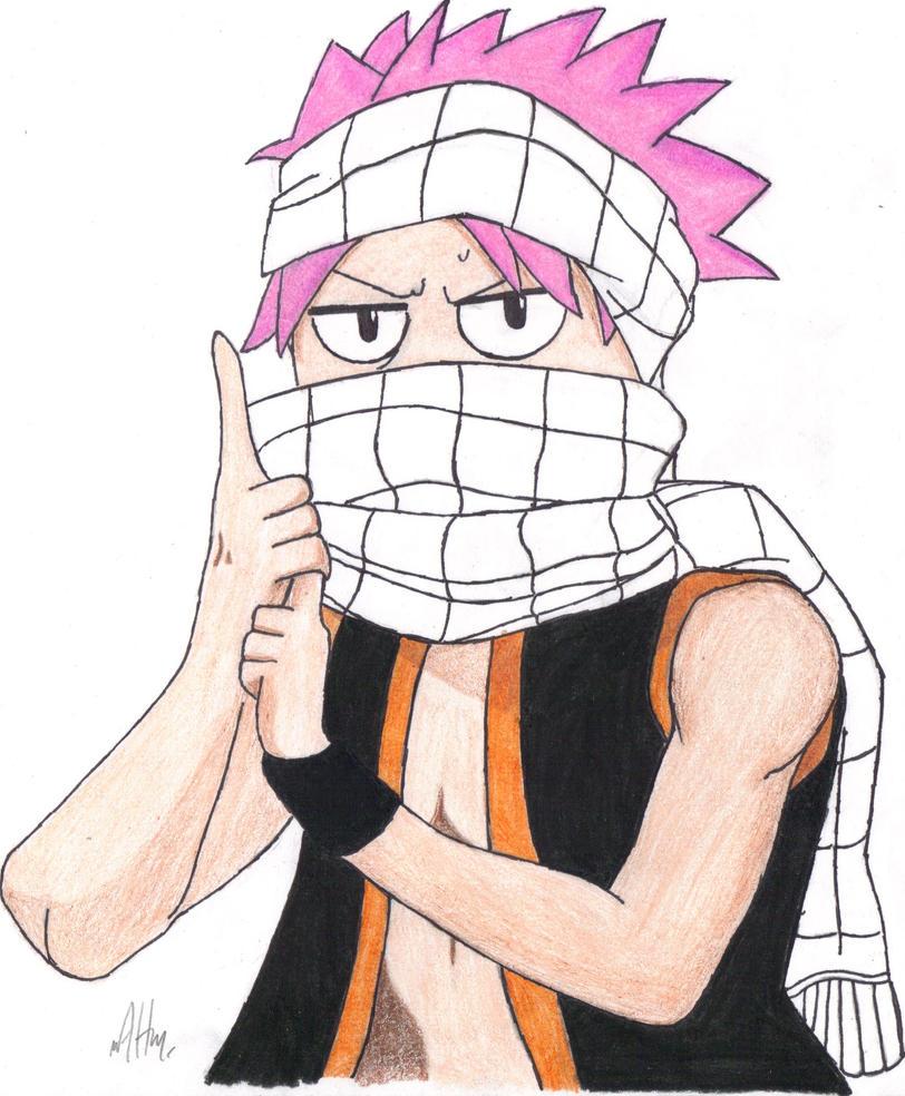 ninja natsu by angryhero42 on deviantart