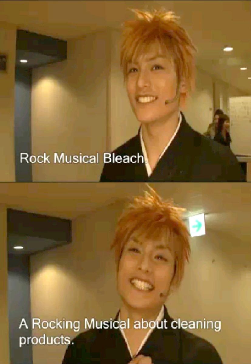 Rock Musical Bleach by AngryHero42
