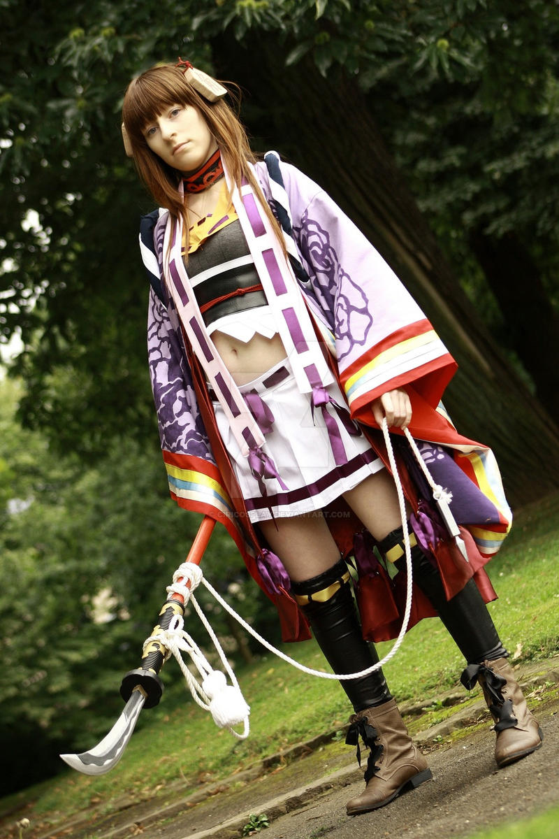 What did you expected? - Senhime Cosplay by Kawaii-Kioko
