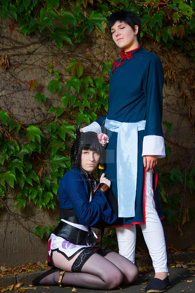 Master and Servant - Ranmao Cosplay by Kawaii-Kioko