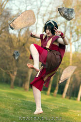 Pretty little stones - Toph Bei Fong Cosplay