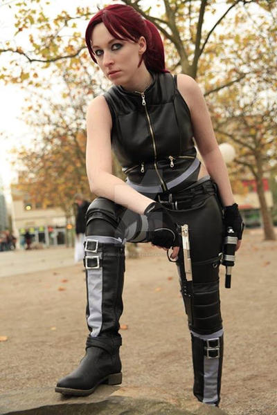 Resting - Doppelganger Cosplay Tomb Raider by Kawaii-Kioko