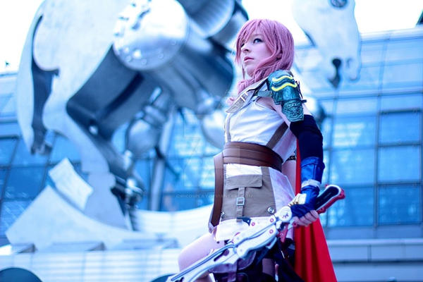 Summon the beast - Lightning Cosplay by Kawaii-Kioko