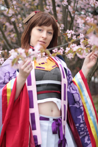Cherry blossoms - Senhime Cosplay by Kawaii-Kioko