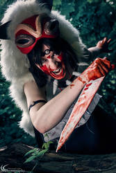 Rage - Princess Mononoke Cosplay by CiriCosplay