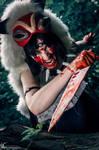 Rage - Princess Mononoke Cosplay by CiriCosplay