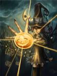 pumpkin halloween cannon