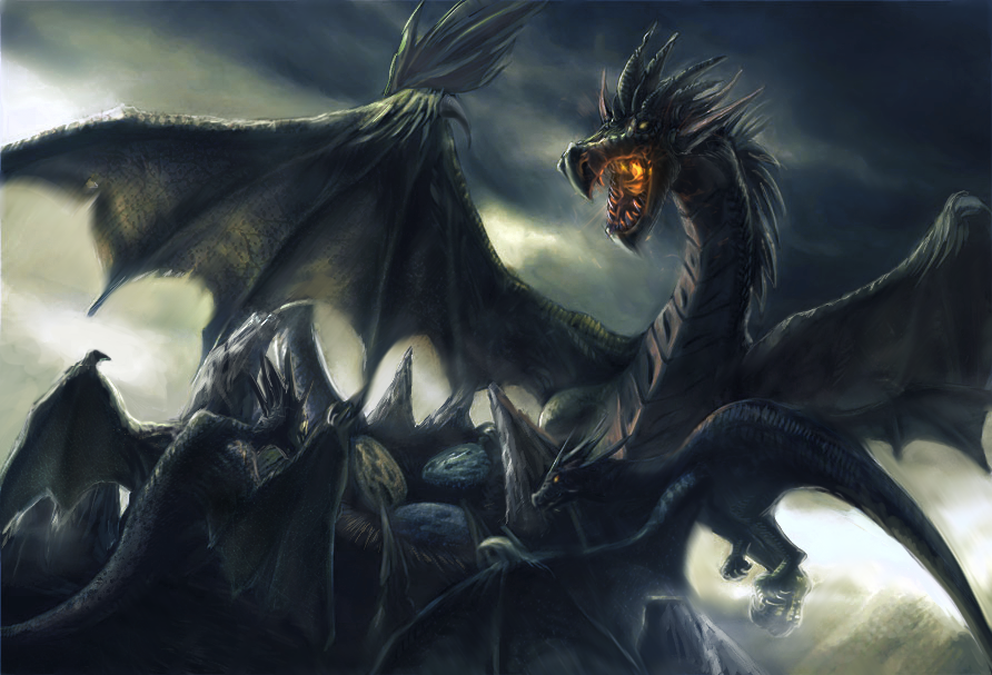 "Dragon Clash ""reborn"" by bodzi0x"