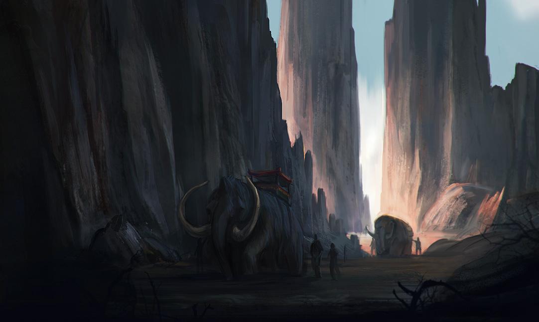 Desert caravan by bodzi0x