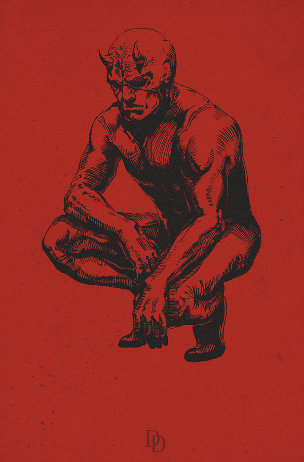 Daredevil by bodzi0x