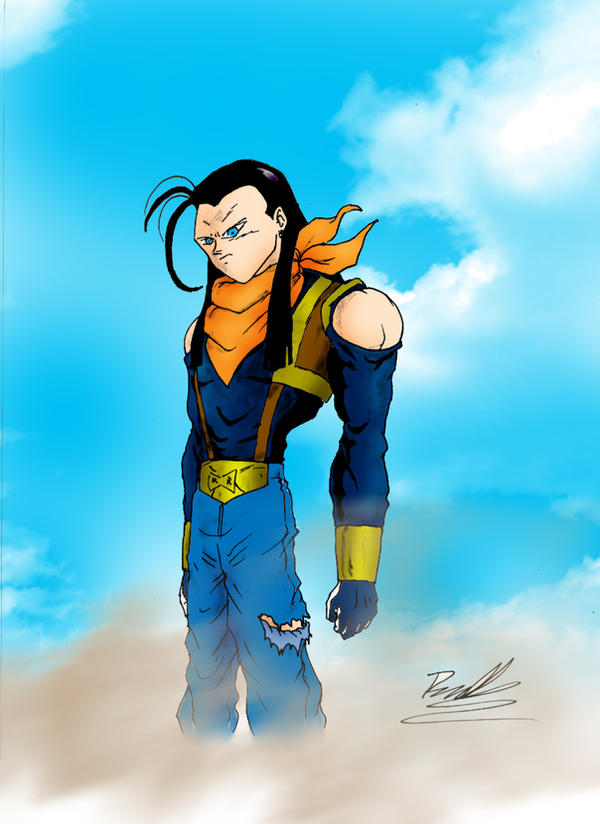 Super Android 17 by Az...