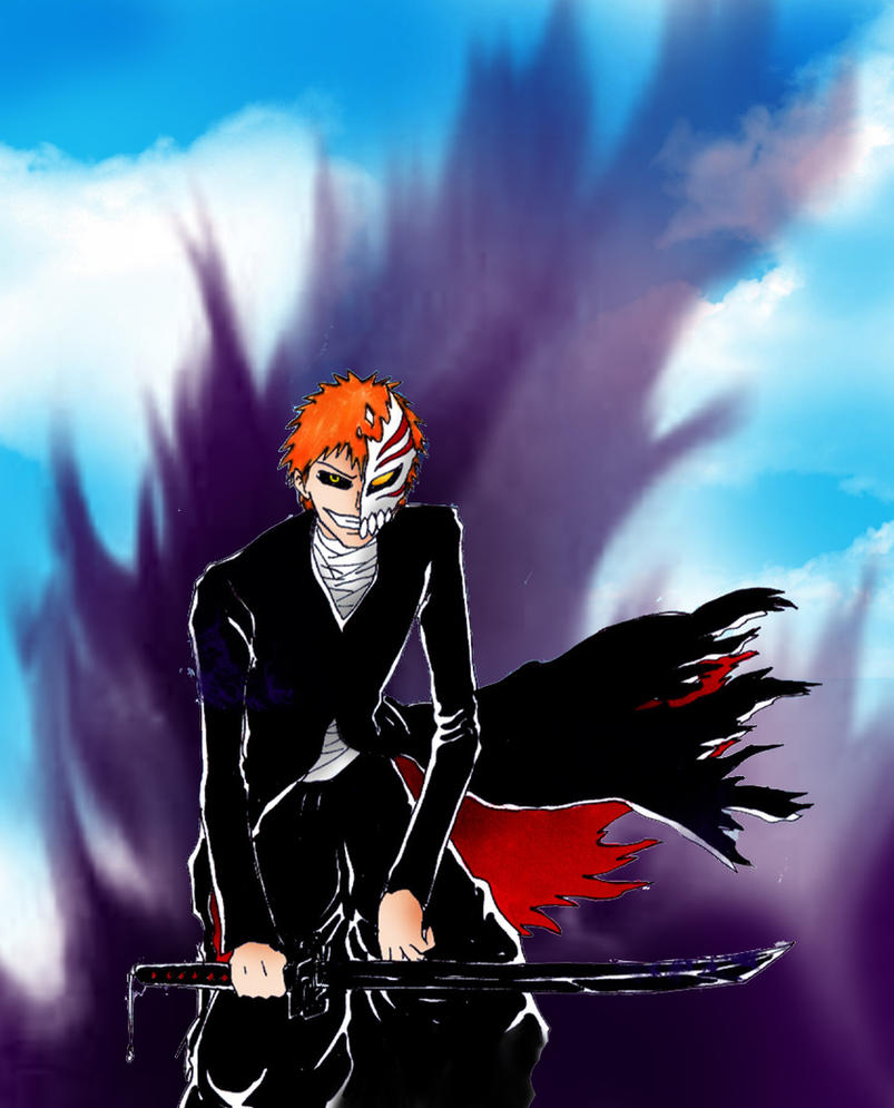Hollow Ichigo, Bankai By Azraeuz On DeviantArt