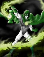 Hal Jordan as The Spectre by Azraeuz