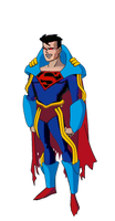 Superboy Prime DCAU style