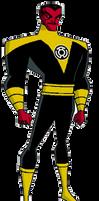 Sinestro DCAU style by Azraeuz
