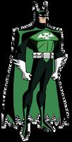 Batman Lantern DCAU style