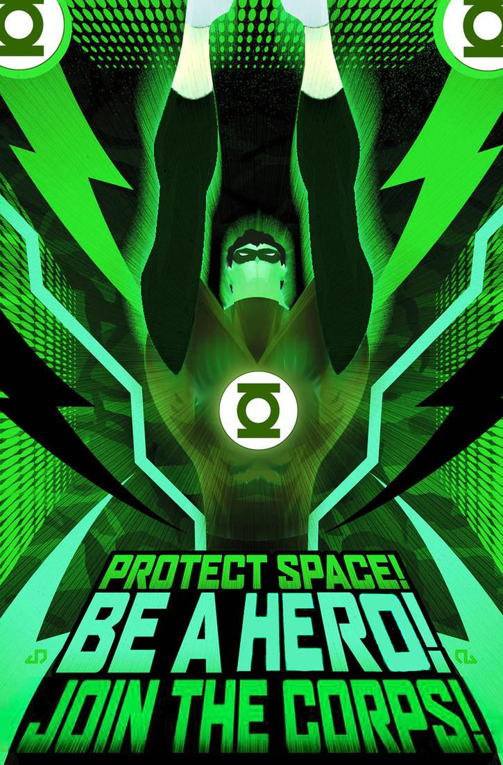 Green Lantern Corps recruit by Azraeuz