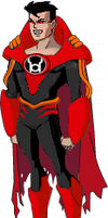 Red Lantern SuperboyPrime DCAU