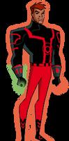 Red Lantern Guy Gardner DCAU