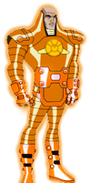 Orange Lantern Lex Luthor DCAU by Azraeuz