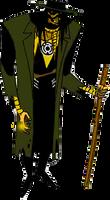 Sinestro Corps Scarecrow DCAU by Azraeuz