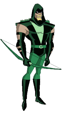 Green Arrow Hood version DCAU by Azraeuz