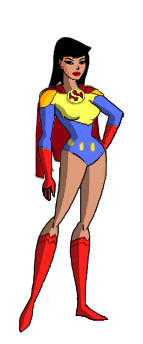 Lois Lane Superwoman DCAU styl by Azraeuz