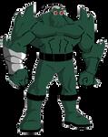 Doomsday containment suit DCAU