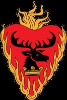 ASOIAF Stannis Baratheon Crest by Azraeuz