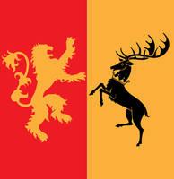 Joffrey Baratheon Crest ASOIAF by Azraeuz