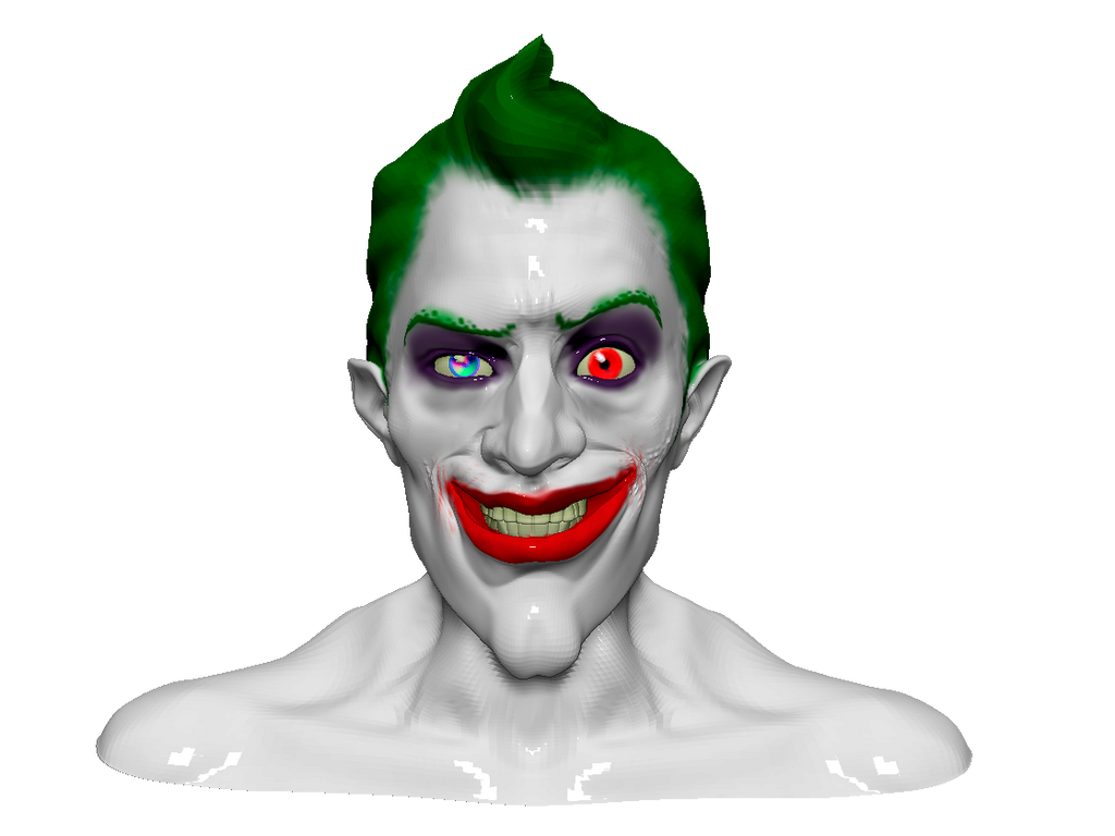 The Joker Zbrush by Azraeuz