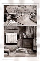 Frankenstein Page 1 inks