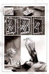 Frankenstein Page 3 inks