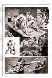 Frankenstein Page 4 inks