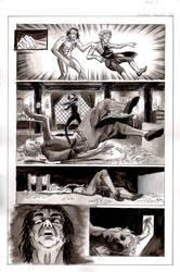 Frankenstein Page 5 inks