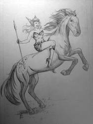 Christmas Sketch 5