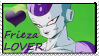 Frieza Lover Stamp by Squillarah