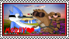 Regular Show-Morby Stamp by Squillarah