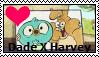 Harvey Beaks-Dade X Harvey Stamp by SkunkyNoid