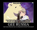 Russia Motivational Poster