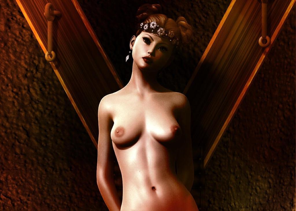 Princess Leia Nude - Vintage by LillithsBernard