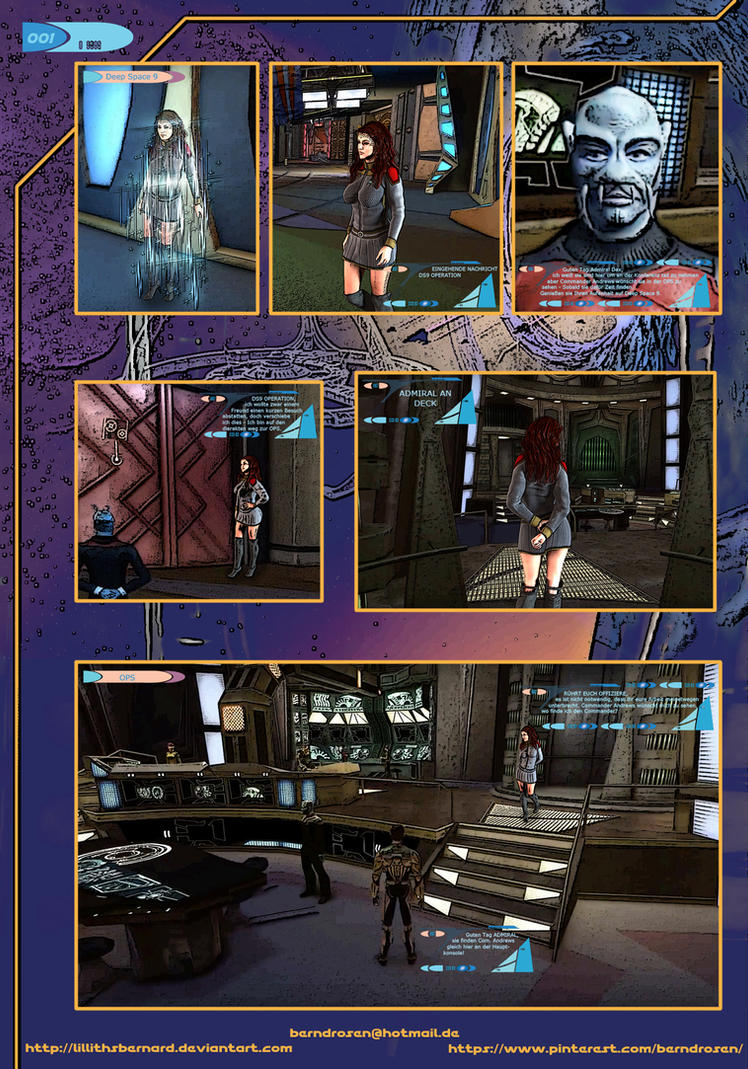 star Trek Hope SECOND WAVE Page 1 by LillithsBernard